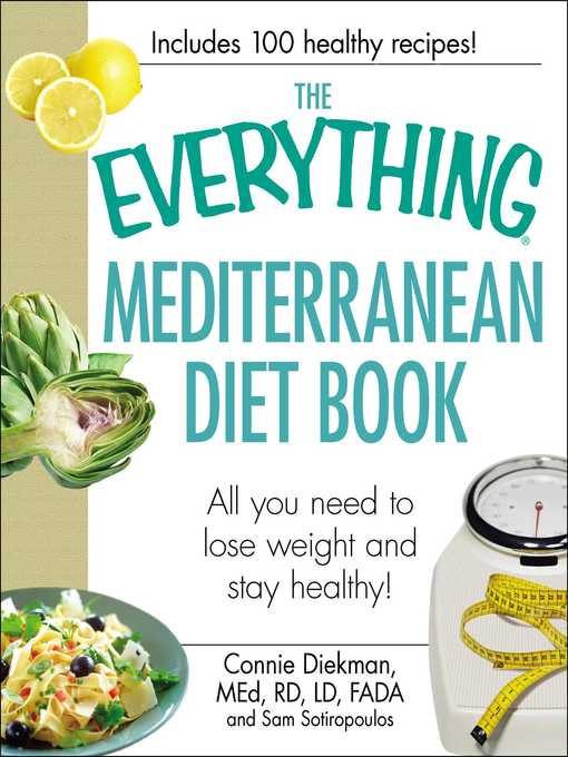 Title details for The Everything Mediterranean Diet Book by Connie Diekman - Available