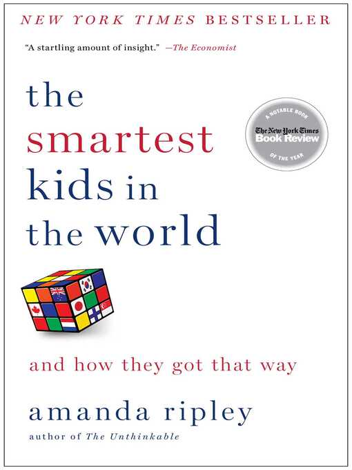Title details for The Smartest Kids in the World by Amanda Ripley - Wait list