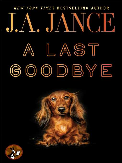 Title details for A Last Goodbye by J.A. Jance - Wait list
