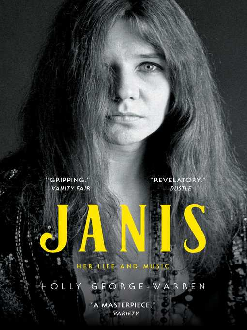 Title details for Janis by Holly George-Warren - Available