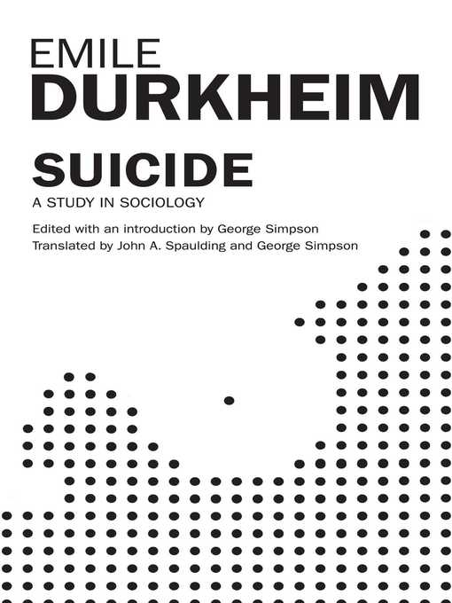 essay on durkheims theory of suicide