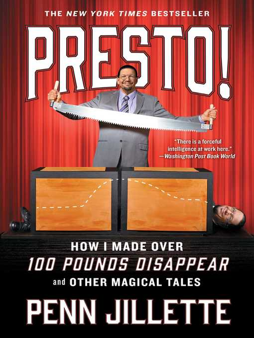 Title details for Presto! by Penn Jillette - Wait list
