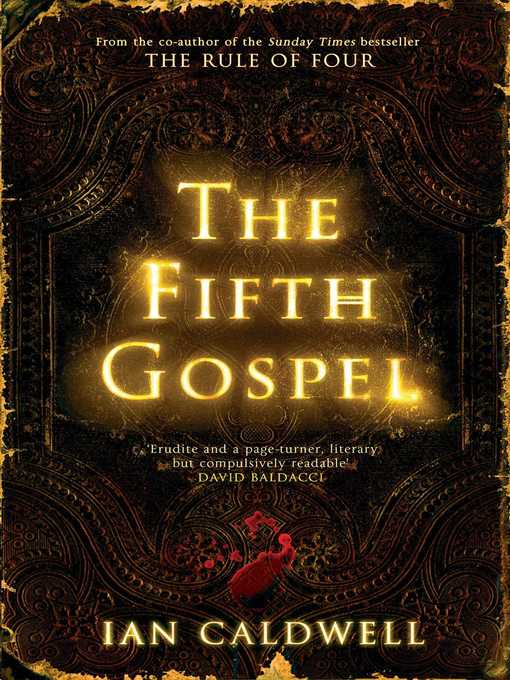 Title details for The Fifth Gospel by Ian Caldwell - Available
