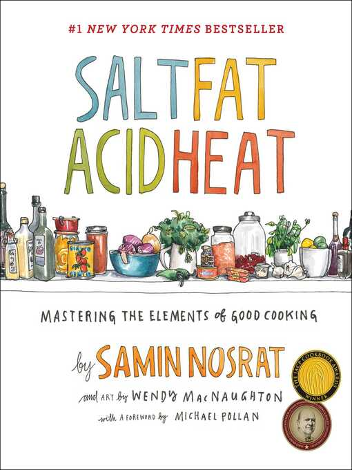 Title details for Salt, Fat, Acid, Heat by Samin Nosrat - Wait list