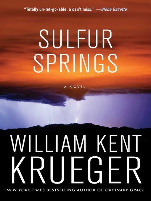 Title details for Sulfur Springs by William Kent Krueger - Wait list