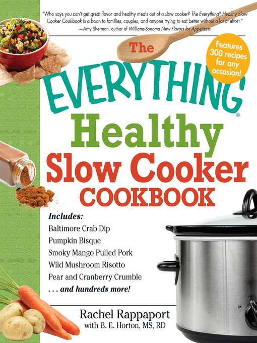 Title details for The Everything Healthy Slow Cooker Cookbook by Rachel Rappaport - Wait list