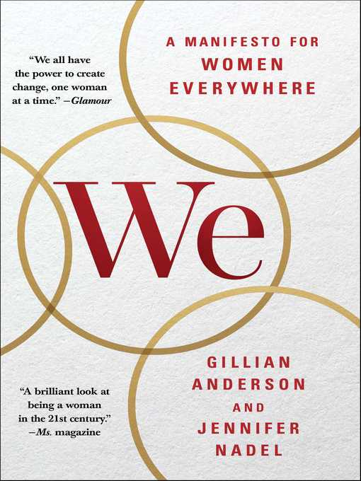 Title details for We by Gillian Anderson - Wait list