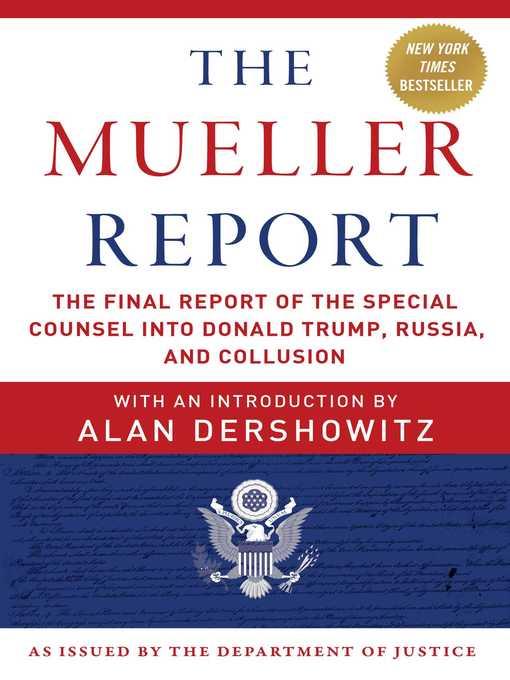 Title details for The Mueller Report by Robert S. Mueller - Wait list