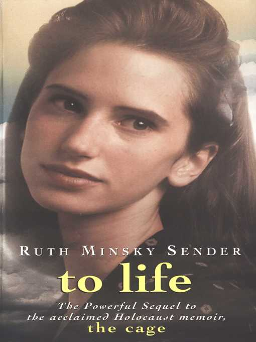 an analysis of the novel the cage by ruth minsky sender Source(s): the cage (review) the cage is ruth minsky sender's first book its sequel, to life, continues her story through her liberation, reuniting with her surviving family members.