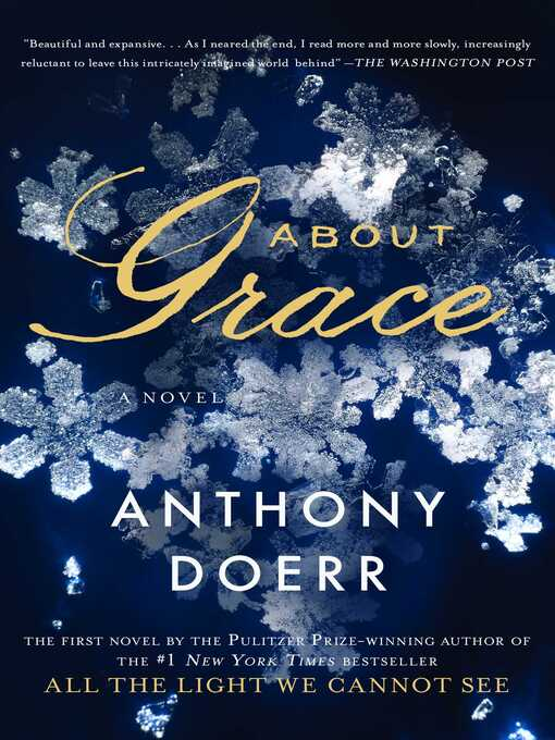 Title details for About Grace by Anthony Doerr - Wait list