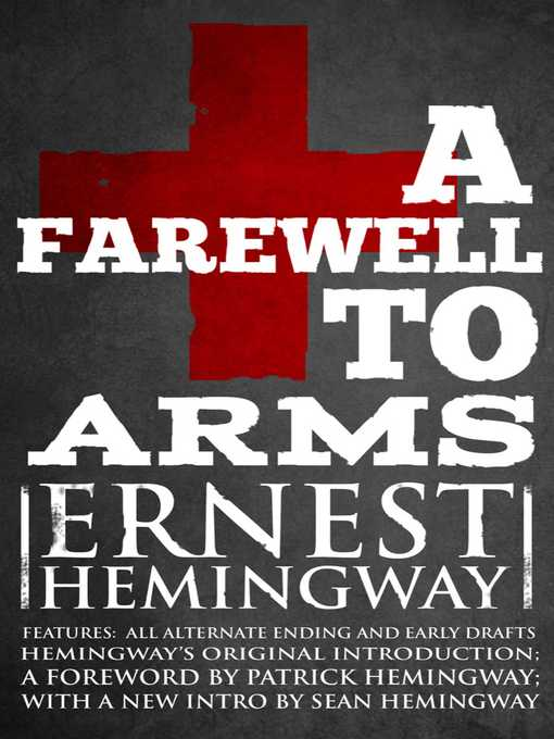 Title details for Farewell to Arms by Ernest Hemingway - Wait list