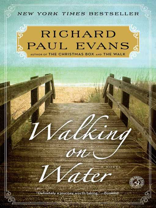 Title details for Walking on Water by Richard Paul Evans - Available