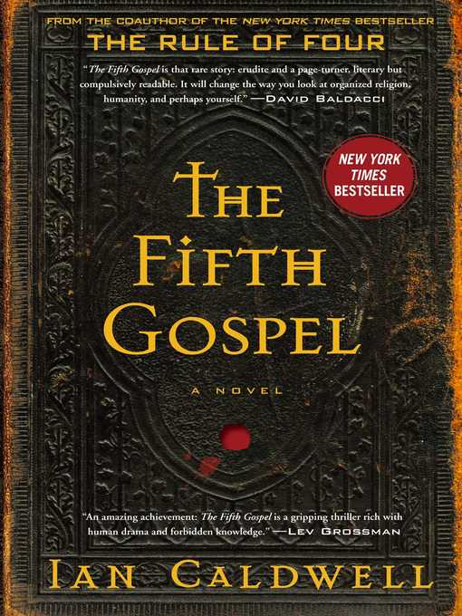 Title details for The Fifth Gospel by Ian Caldwell - Wait list