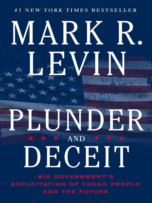 Title details for Plunder and Deceit by Mark R. Levin - Wait list