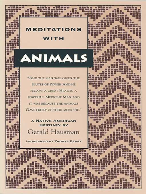 Cover of Meditations with Animals