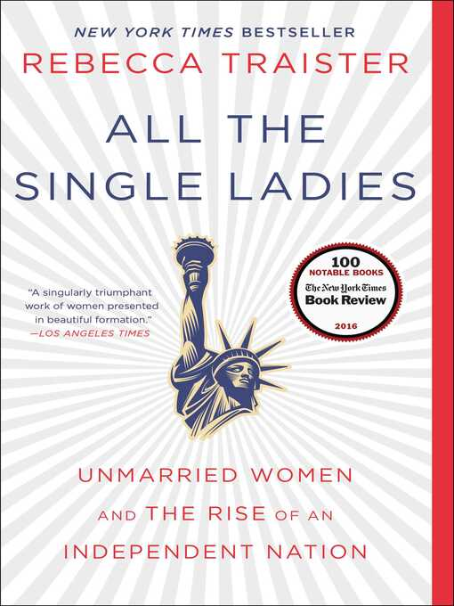 Détails du titre pour All the Single Ladies par Rebecca Traister - Liste d'attente