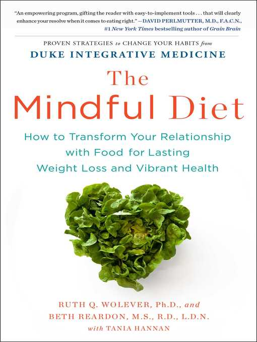 Title details for The Mindful Diet by Ruth Wolever PhD - Wait list