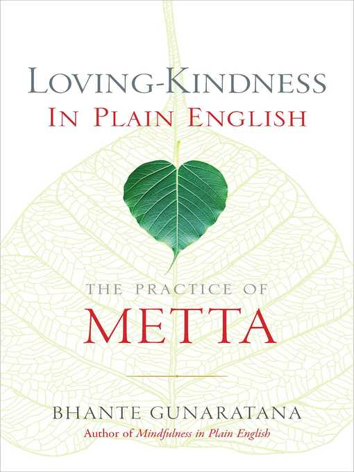 Title details for Loving-Kindness in Plain English by Henepola Gunaratana - Available