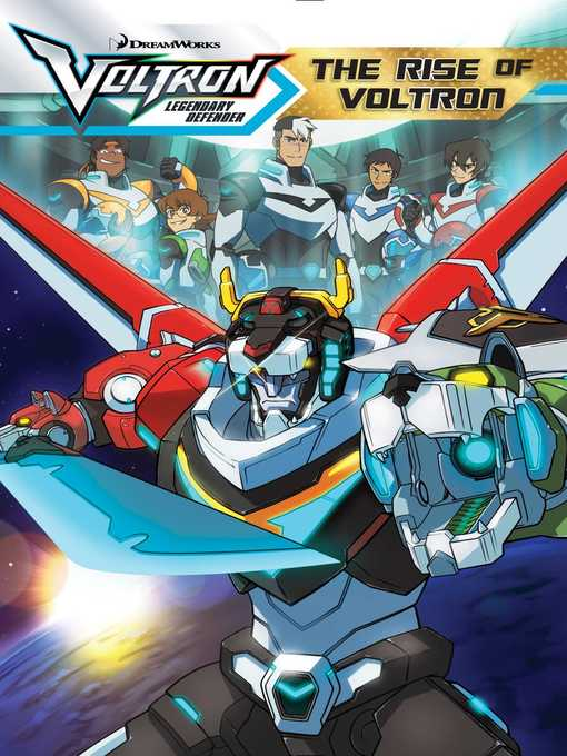 Cover image for The Rise of Voltron
