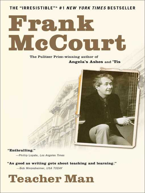 Title details for Teacher Man by Frank McCourt - Available