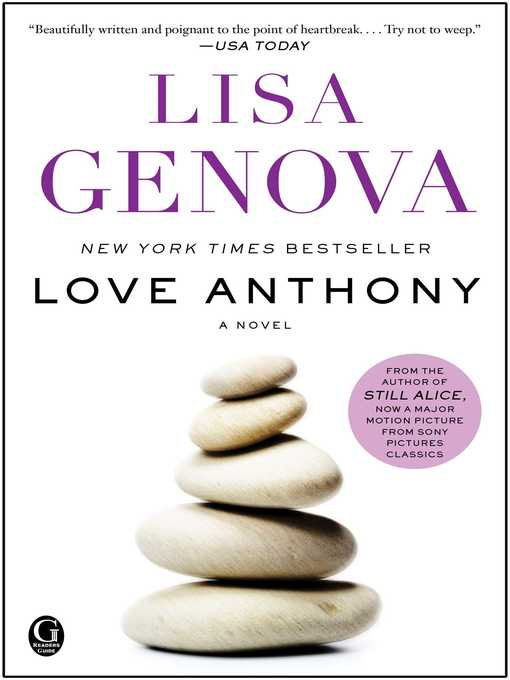 Title details for Love Anthony by Lisa Genova - Available