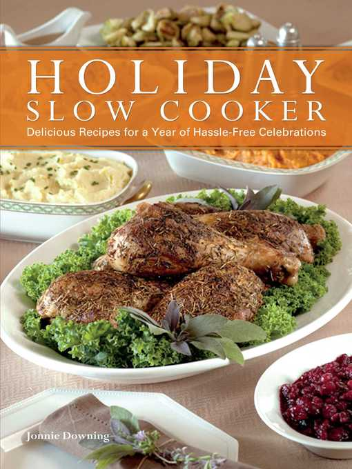 Title details for Holiday Slow Cooker by Jonnie Downing - Available