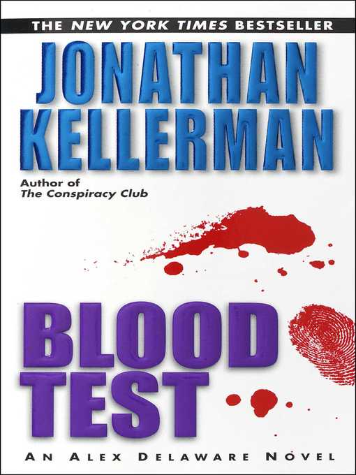 Title details for Blood Test by Jonathan Kellerman - Available