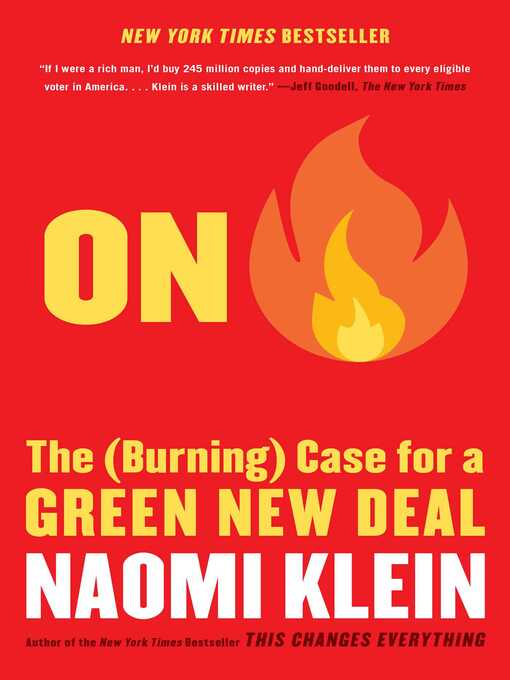 Title details for On Fire by Naomi Klein - Wait list