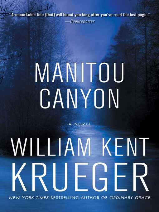 Title details for Manitou Canyon by William Kent Krueger - Wait list