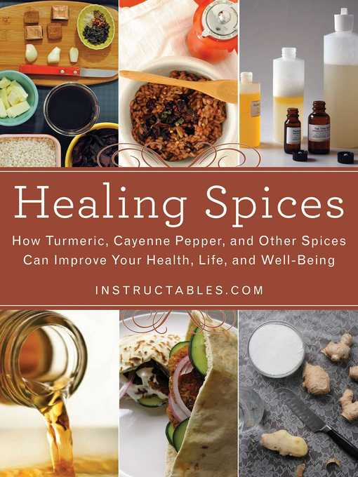 Title details for Healing Spices by Instructables.com - Available