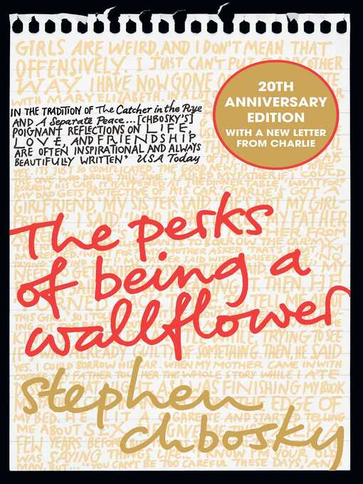 Title details for The Perks of Being a Wallflower by Stephen Chbosky - Wait list