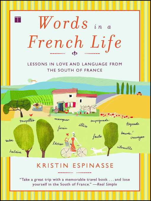 Le De S For Words In A French Life By Kristin Espin E Wait List