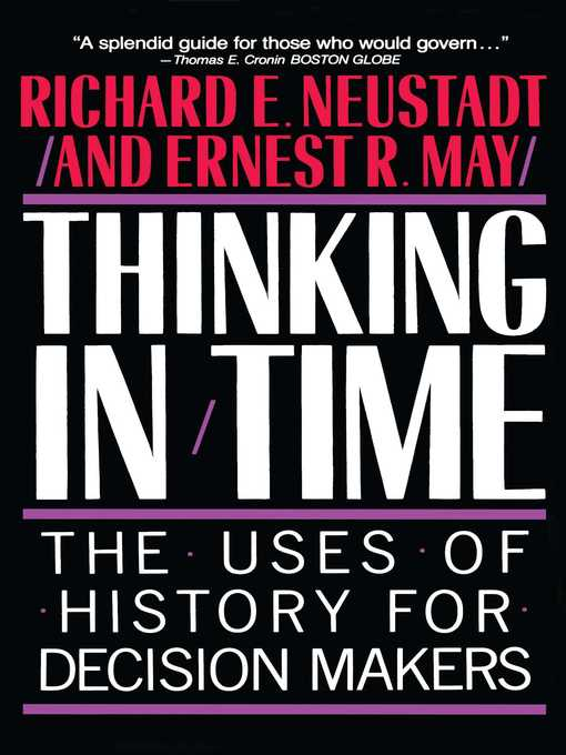 Cover of Thinking in Time