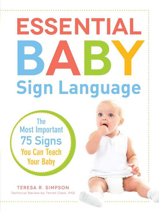 Cover of Essential Baby Sign Language