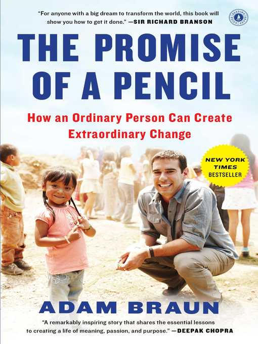 Title details for The Promise of a Pencil by Adam Braun - Wait list