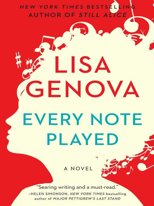 Title details for Every Note Played by Lisa Genova - Available