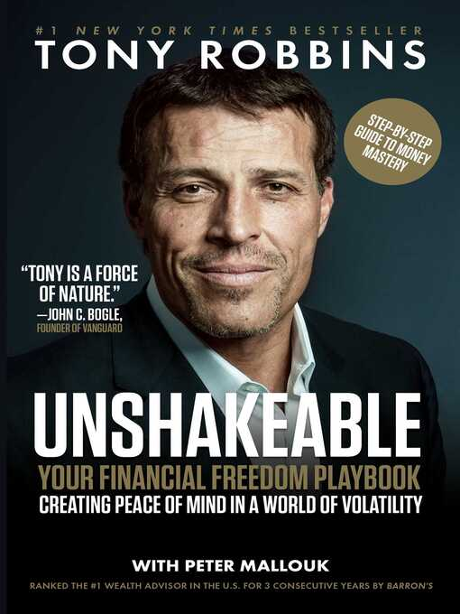 Title details for Unshakeable by Tony Robbins - Available