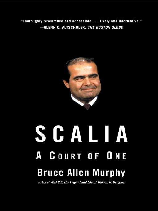 Title details for Scalia by Bruce Allen Murphy - Wait list