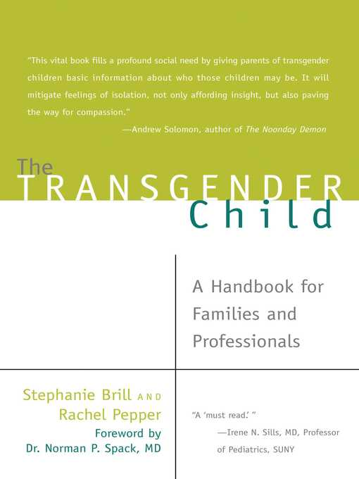 Title details for The Transgender Child by Stephanie Brill - Available