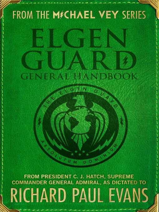 Title details for Elgen Guard General Handbook by Richard Paul Evans - Available