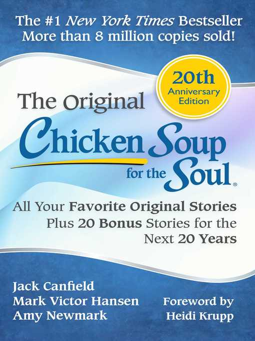 Title details for Chicken Soup for the Soul 20th Anniversary Edition by Jack Canfield - Available