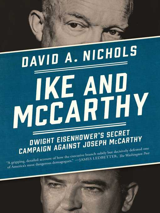 Title details for Ike and McCarthy by David A. Nichols - Wait list