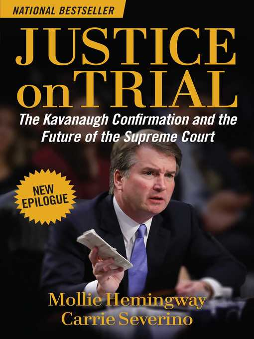Title details for Justice on Trial by Mollie Hemingway - Wait list