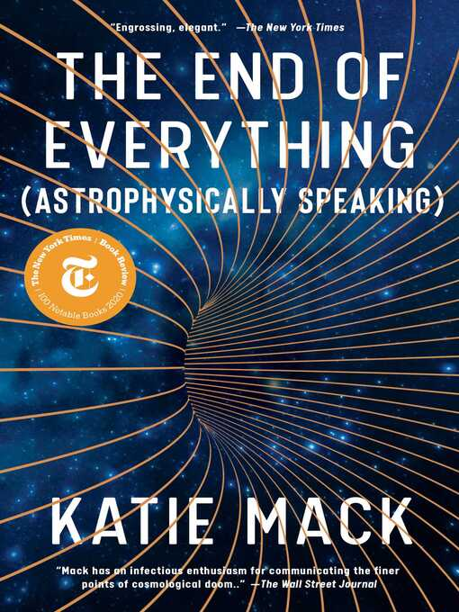 Title details for The End of Everything by Katie Mack - Wait list