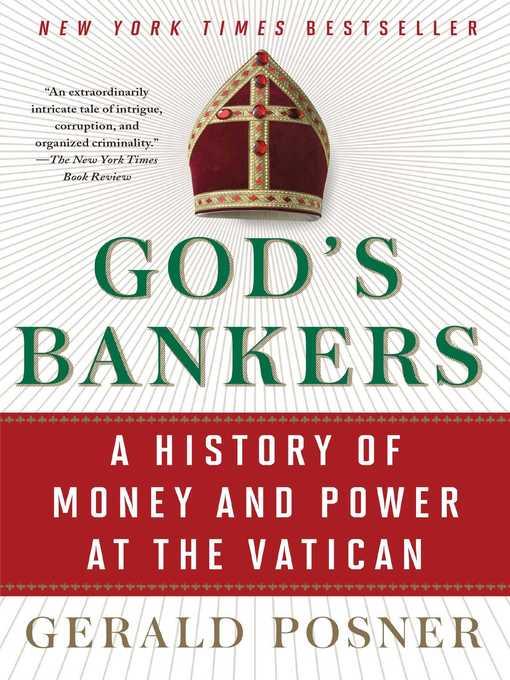 Title details for God's Bankers by Gerald Posner - Wait list
