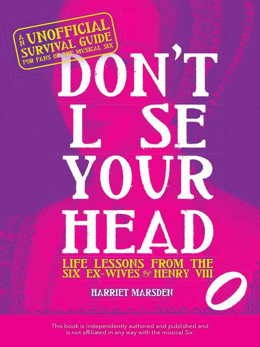 Title details for Don't Lose Your Head by Harriet Marsden - Available