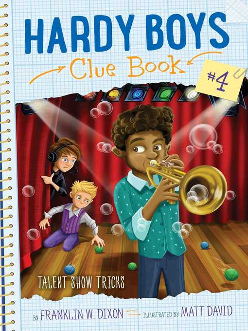 Title details for Talent Show Tricks by Franklin W. Dixon - Available