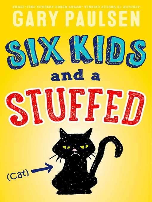 Cover of Six Kids and a Stuffed Cat