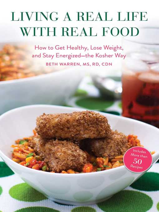 Title details for Living a Real Life with Real Food by Beth Warren - Available