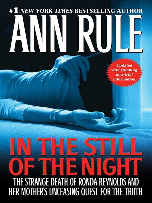 Title details for In the Still of the Night by Ann Rule - Wait list